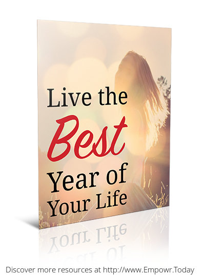Live The Best Year of Your Life (Workbook & Worksheet) by Vince Morales