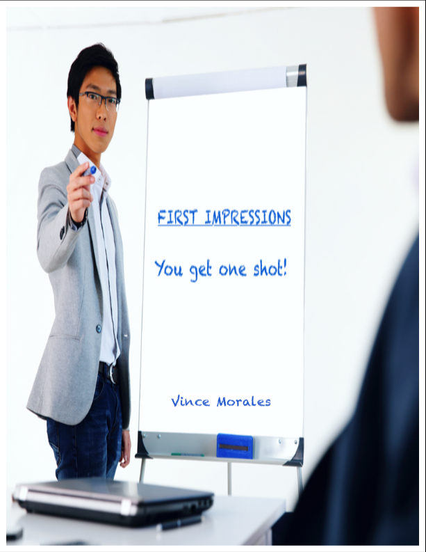 First Impressions: You Get One Shot by Vince Morales