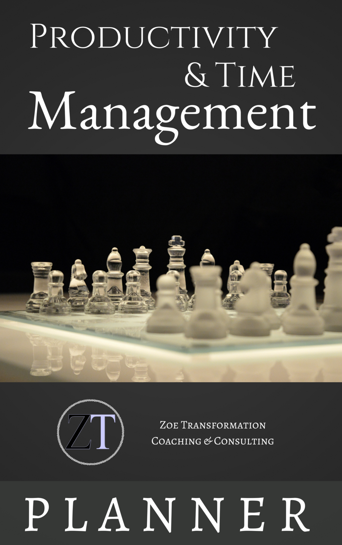 Productivity & Time Management Planner (Mens)