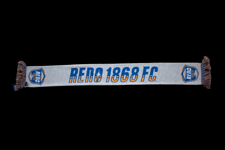 Reno 1868 FC Grey Scarf