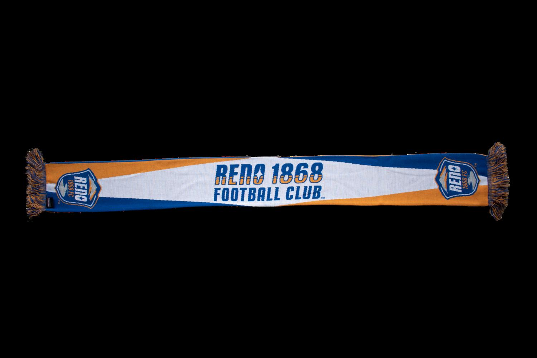 Reno 1868 FC White Scarf