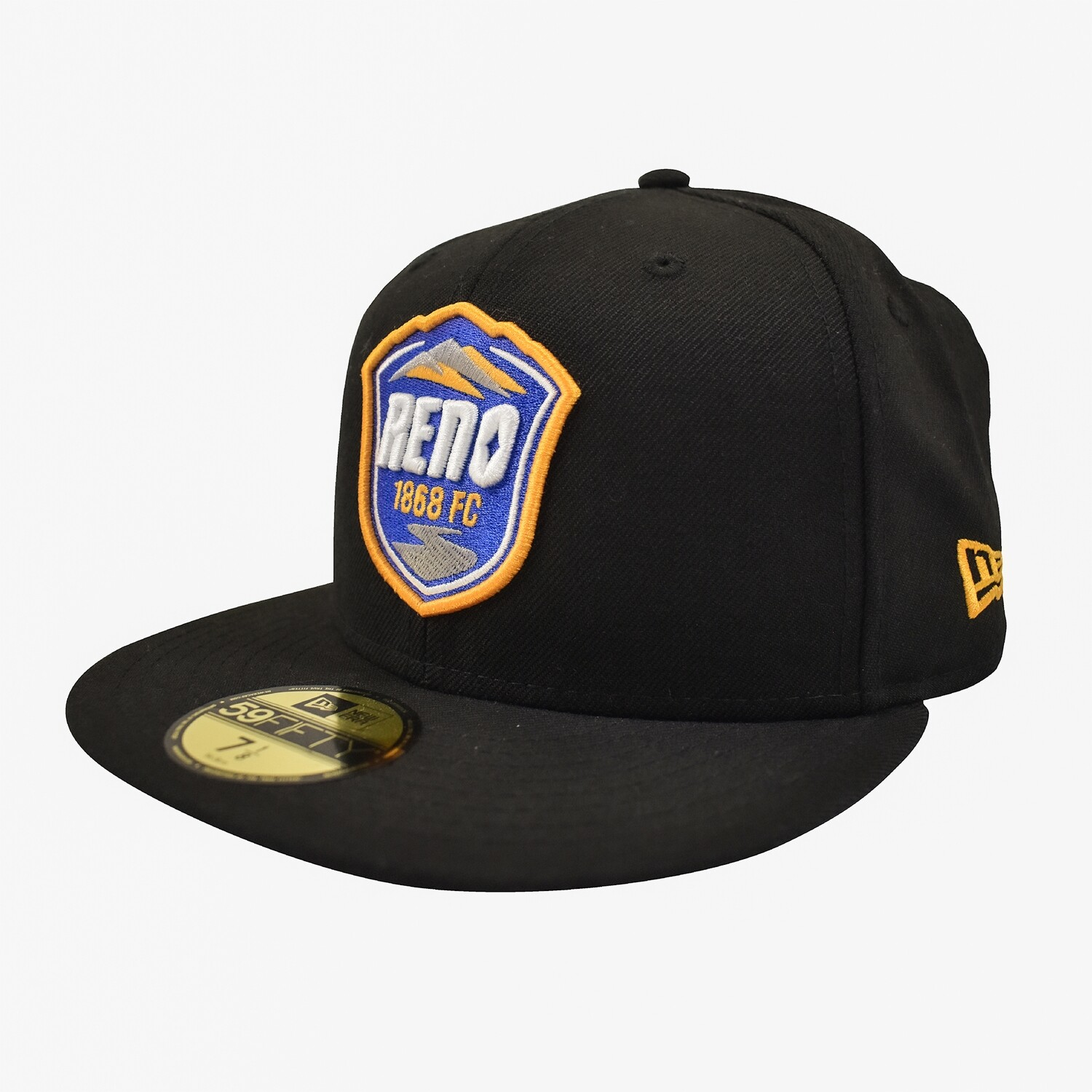 Reno 1868 FC New Era 59Fifty Fitted Hat - Black