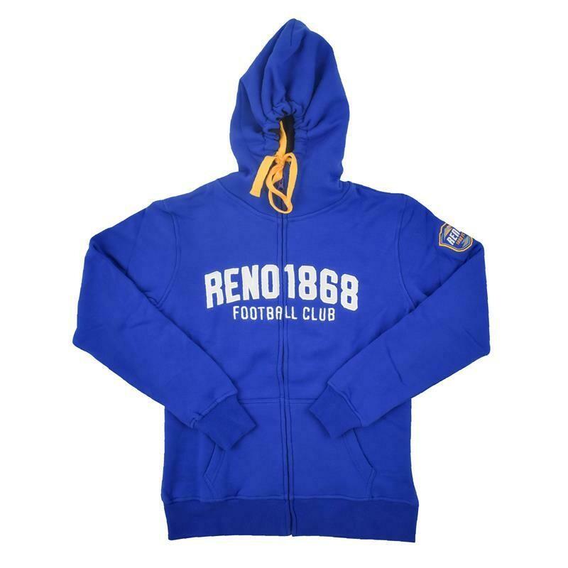 Reno 1868 FC Women's FZ Hood Jacket