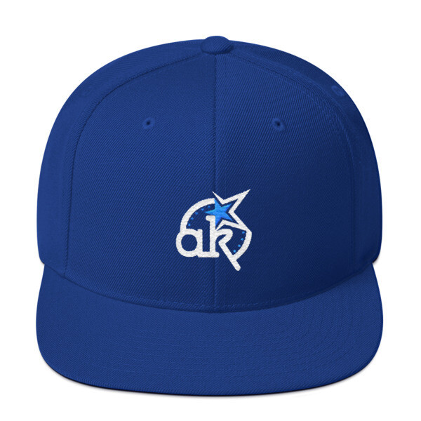 AKSTAR Logo Royal Snapback