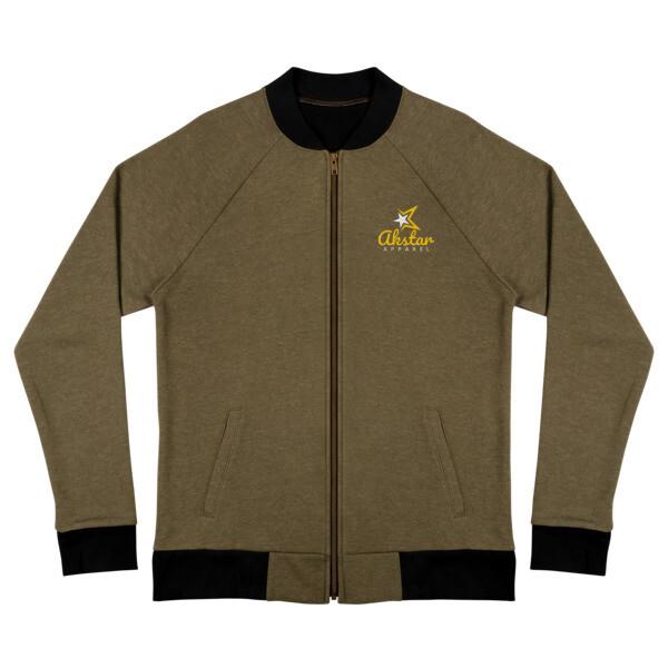 AkStar Signature Army Bomber Jacket