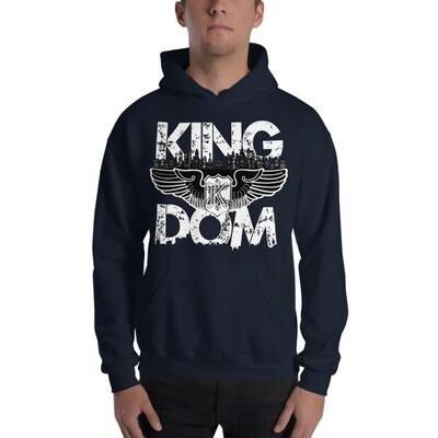 Kingdom Original Navy Hooded Sweatshirt