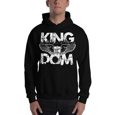Kingdom Original Black Hooded Sweatshirt