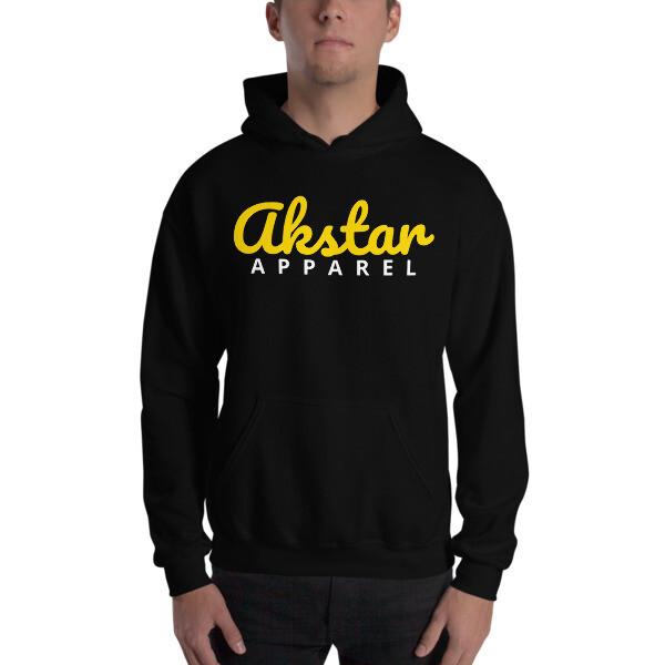 AKSTAR SIGNATURE HOODED SWEATSHIRT (Black or Navy)