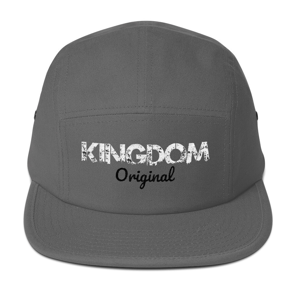 Kingdom Original Grey Five Panel Cap