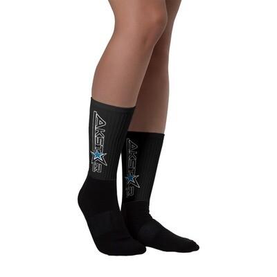 AkStar Name Logo Socks