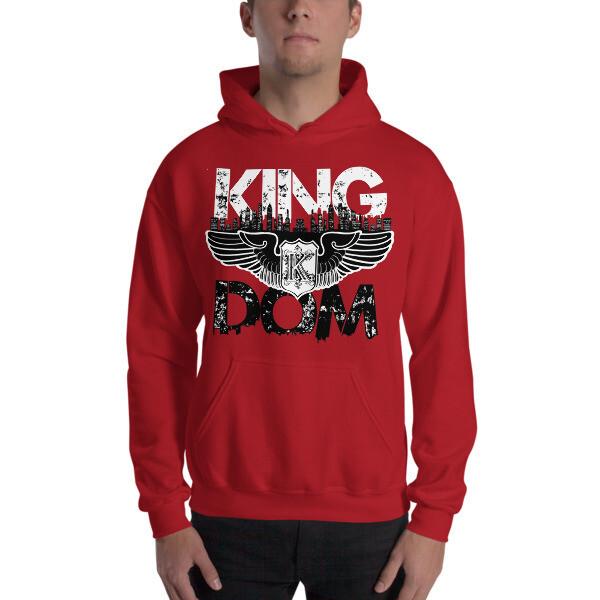 Kingdom Original Red Hooded Sweatshirt