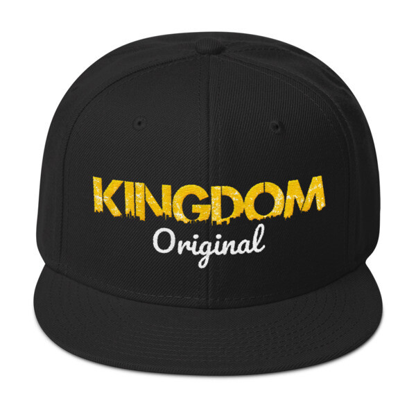Kingdom Original Black Snapback