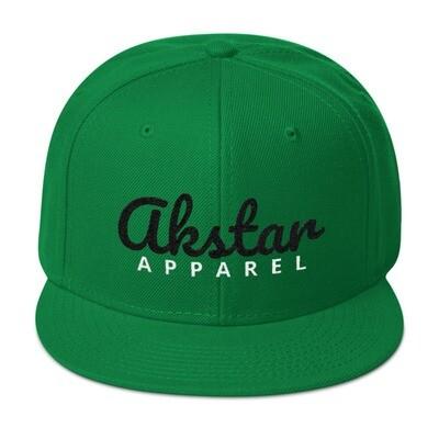 AKStar Signature Grn Snapback Cap