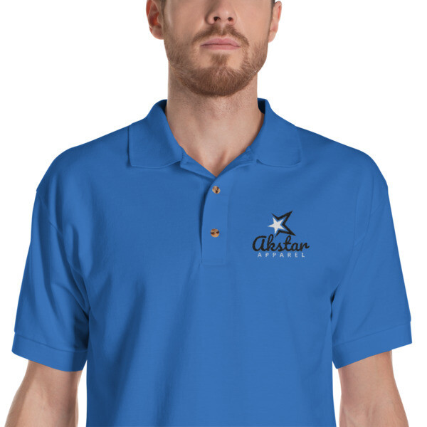 AkStar Signature Embroidered Polo Shirt