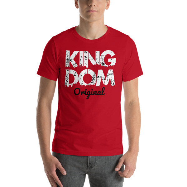Kingdom Original Mens Red T-Shirt