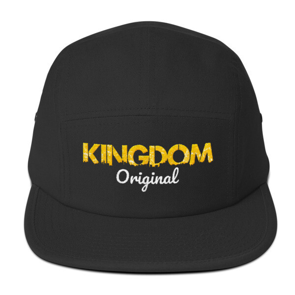 Kingdom Original Black Five Panel Cap