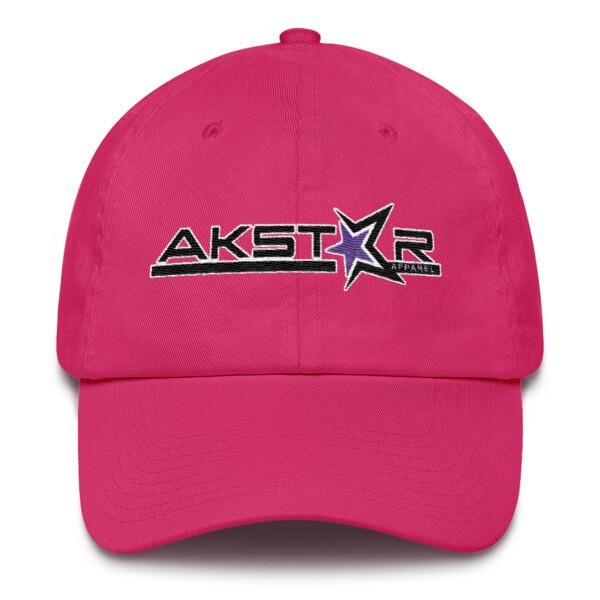AKSA Ladies Pink Cotton Cap