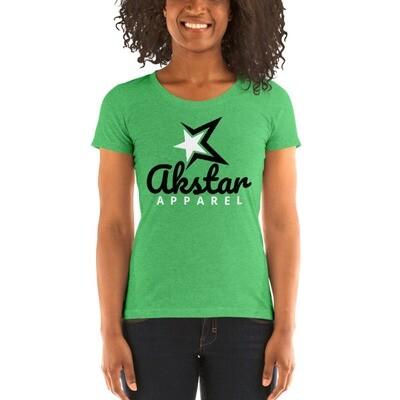 Ladies' Rising Star Grn t-shirt