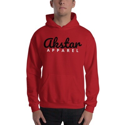 AKStar Signature Red Hooded Sweatshirt