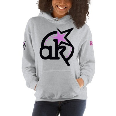 23 AKSA LOGO HOODED SWEATSHIRT L