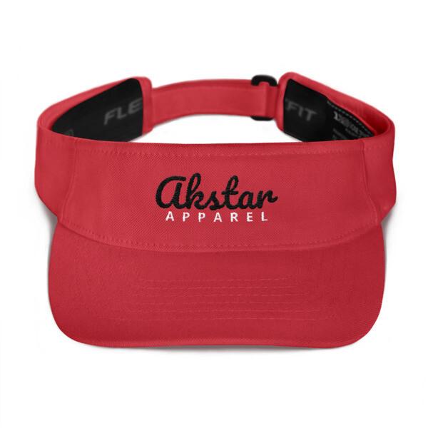 AKStar Signature Red Visor