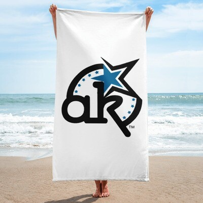 AKSTAR Logo Towel