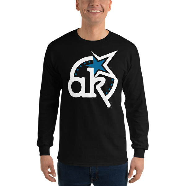 AKSA Logo Dark Long Sleeve T-Shirt