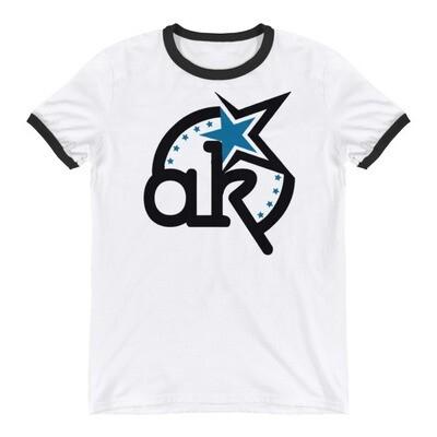 AKSA Logo Ringer T-Shirt
