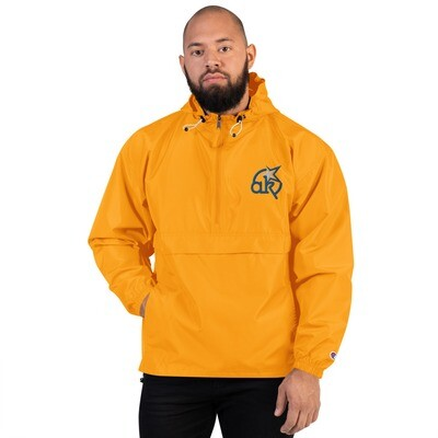 AKStar Champion Packable Orange Jacket