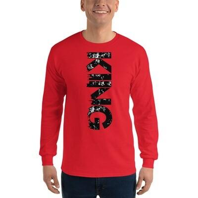 Kingdom City LS Red T-Shirt