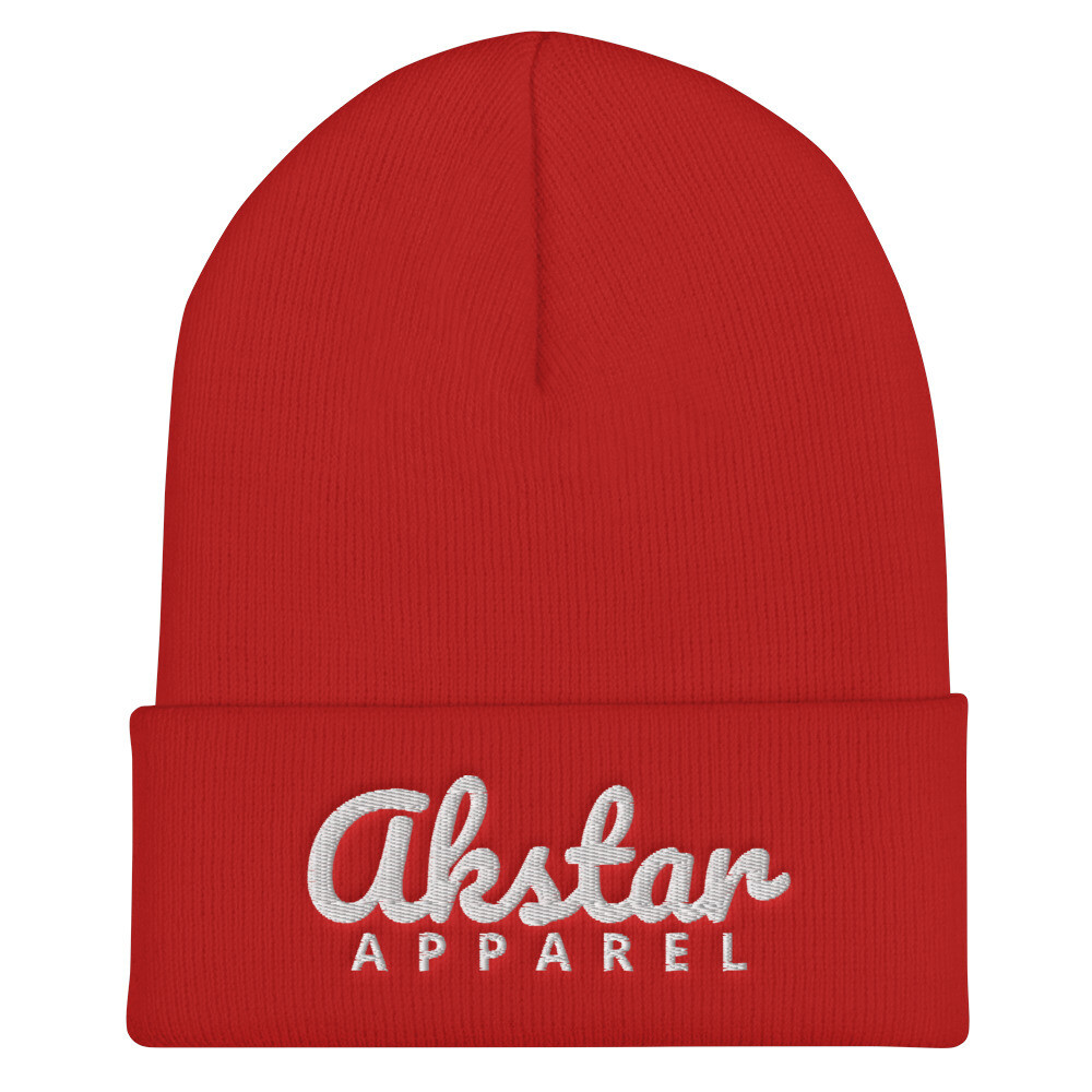 AKStar Signature Red Beanie