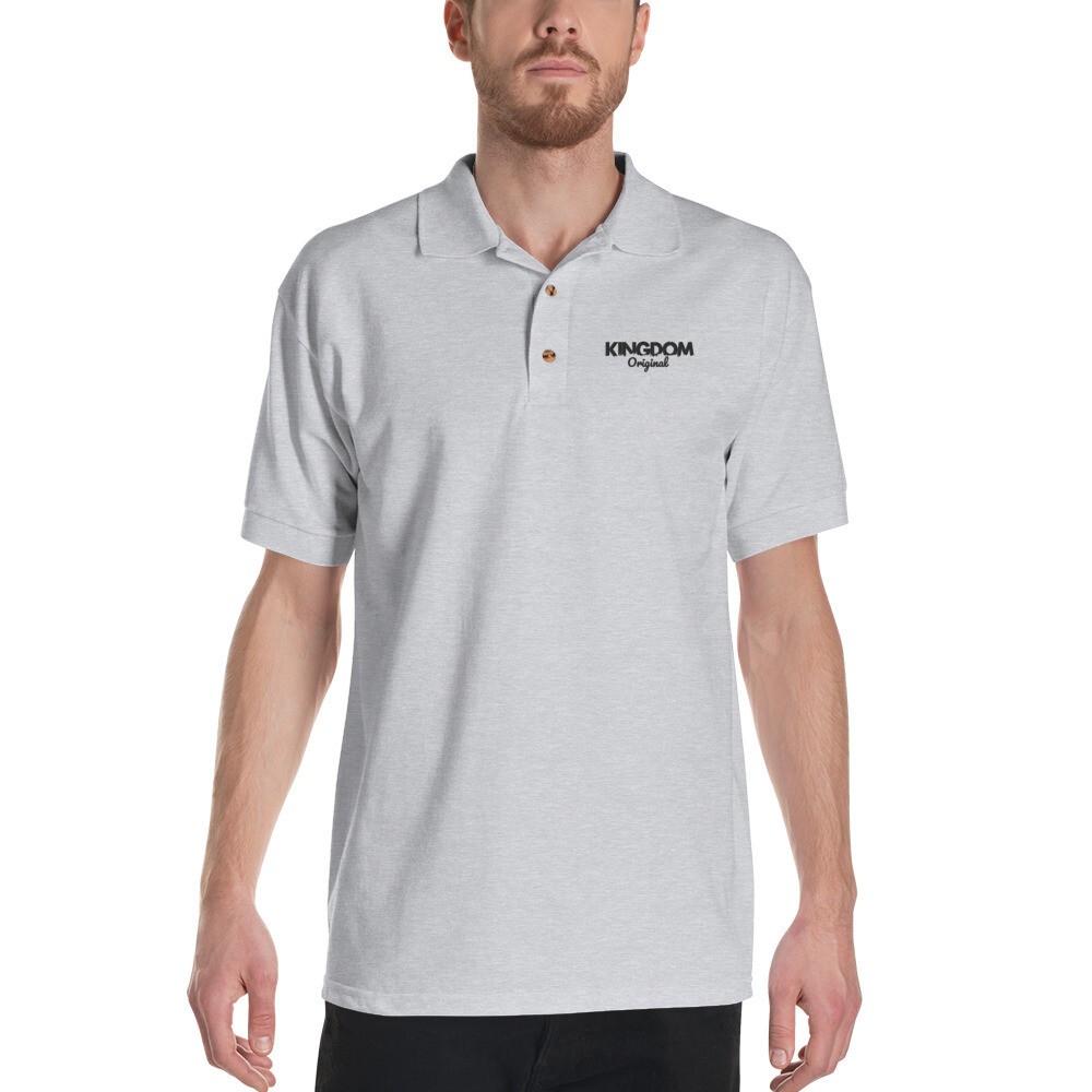 Kingdom Orig. Gry Embroidered Polo Shirt