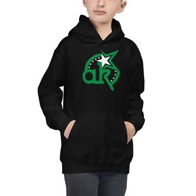 AKSTAR Logo Kids Hoodie Black