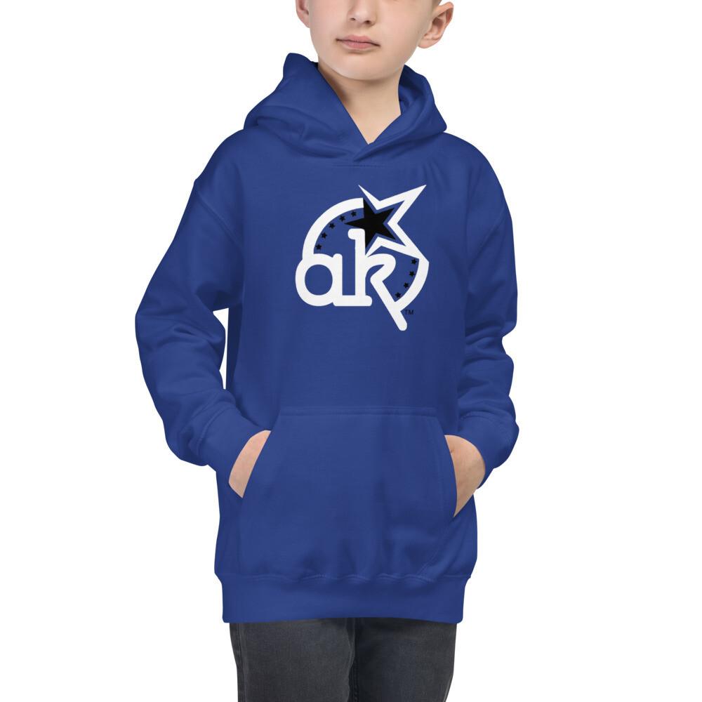 AKSTAR Logo Kids Hoodie Royal