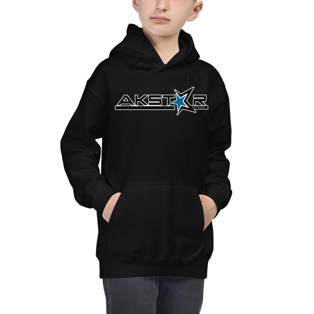 AKSA Kids Hoodie Black