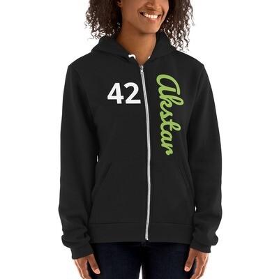 ASKA 42 Hoodie Zip Black