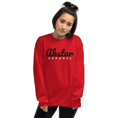 AKSTAR Signature Sweatshirt Red L
