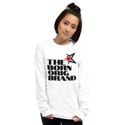 Born Original Brand Women's LS Shirt Wht