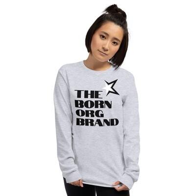 Born Original Brand Women's LS Shirt Gry
