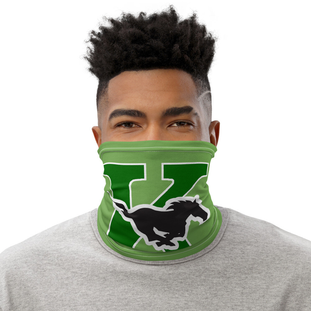 Mustangs Face Scarf Cover