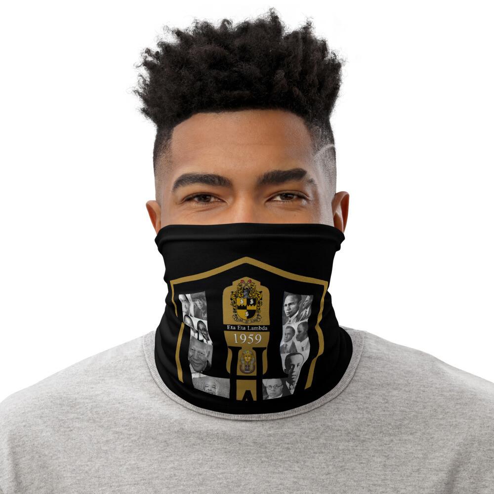 Eta Eta Lambda Face Scarf Cover