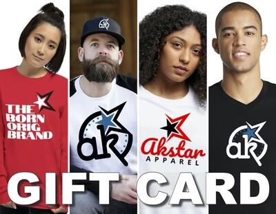 AKSTAR Gift Card
