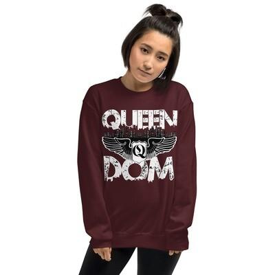 Queendom Original Maroon Sweatshirt