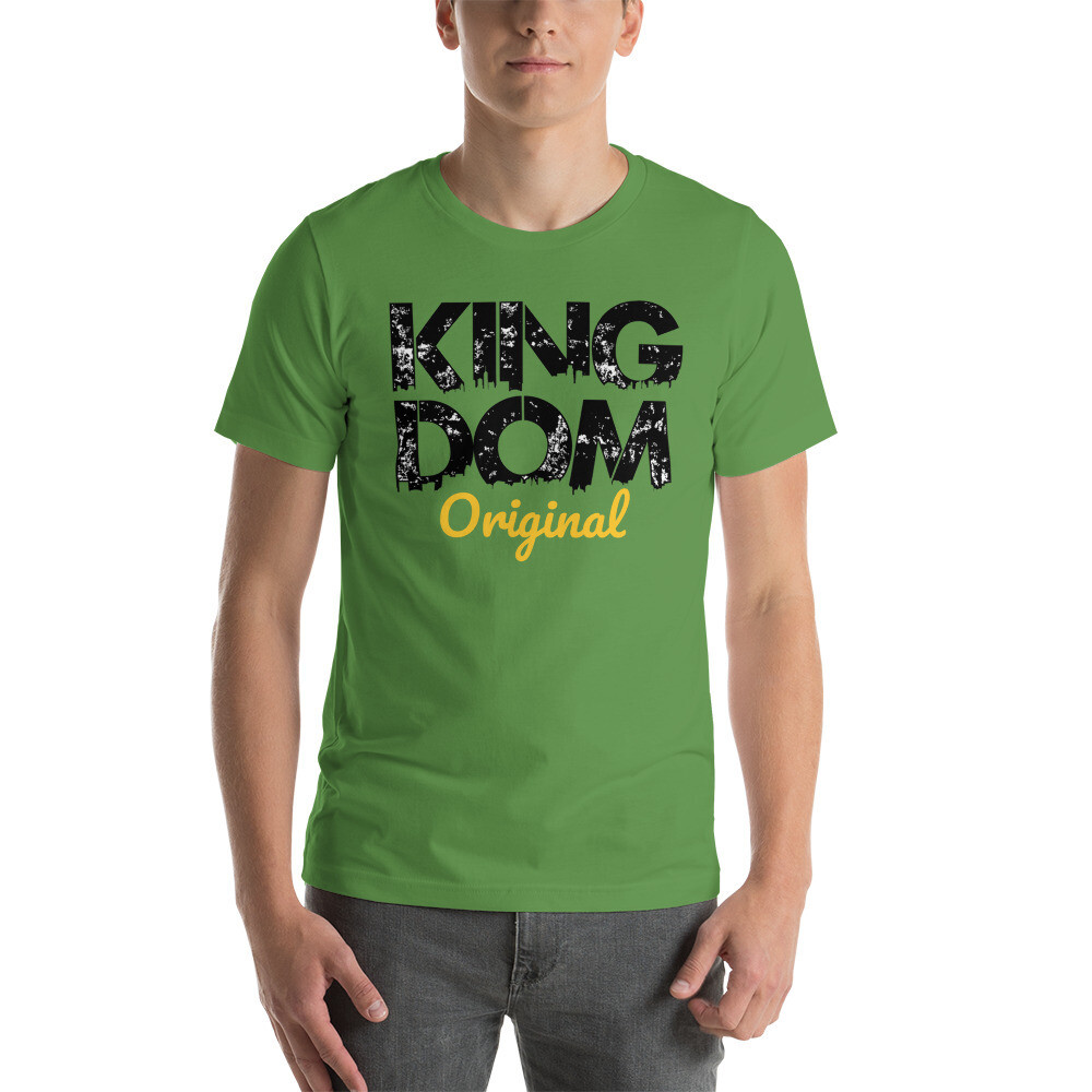 Kingdom Original Mens Green T-Shirt
