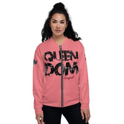 QD Original Womens Salmon Bomber Jacket