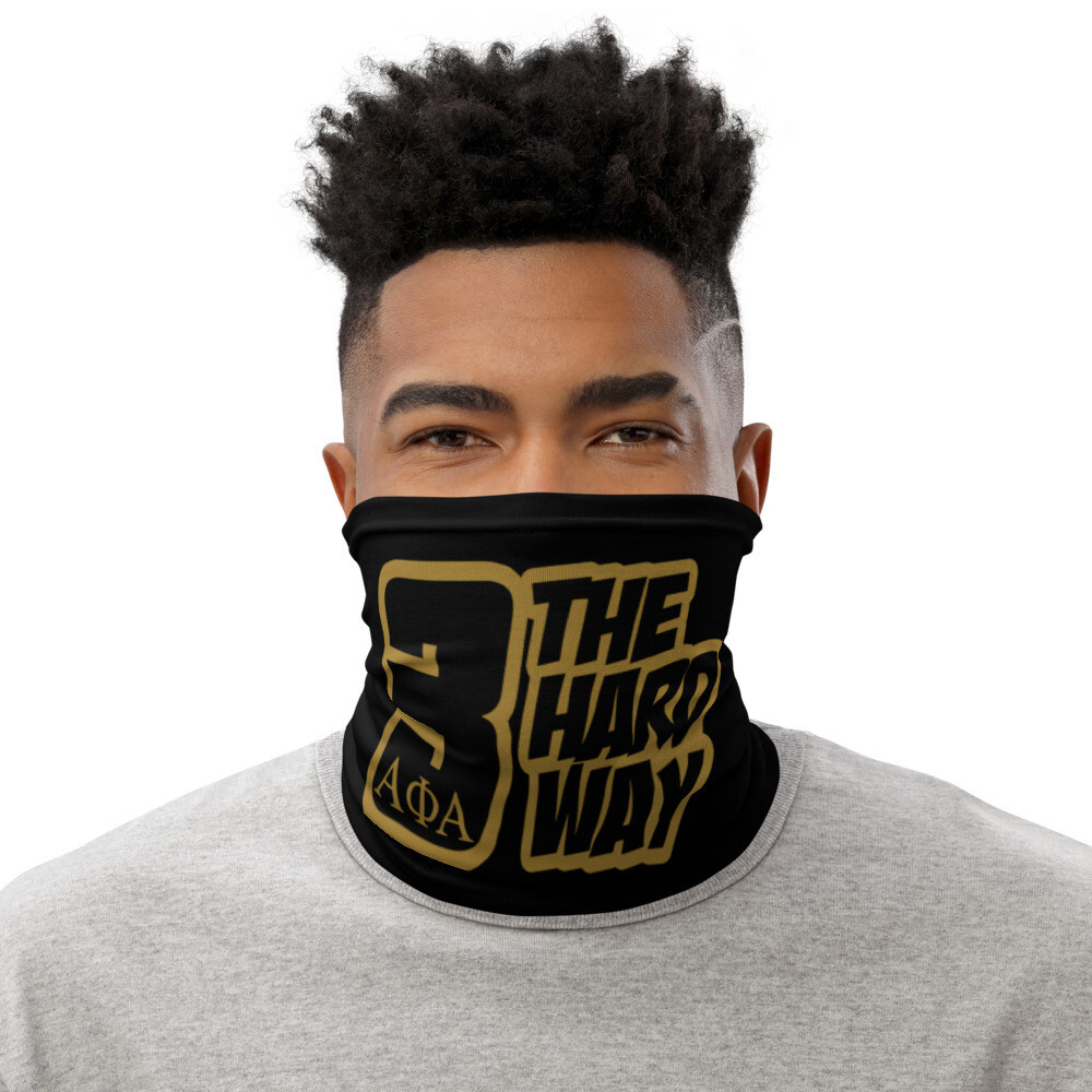 Tre The Hard Way Scarf Cover Blk