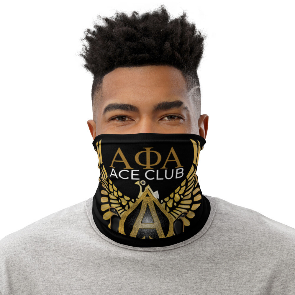 The ACE CLUB Scarf Cover Blk