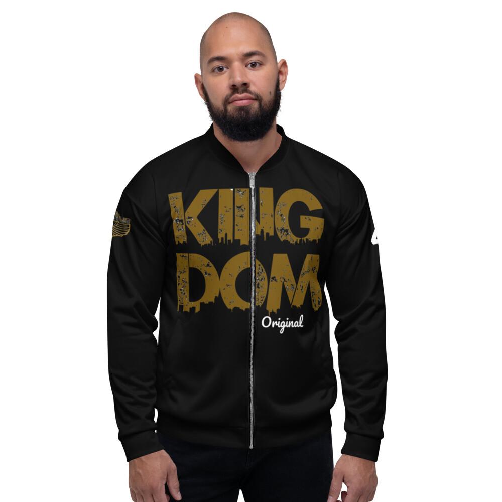Kingdom OG Black Bomber Jacket
