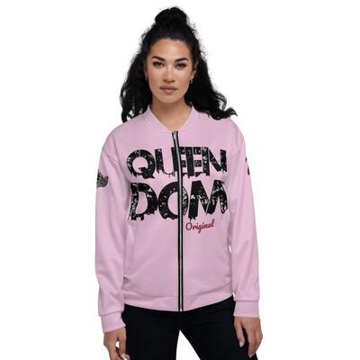 QD Original Womens Pink Bomber Jacket