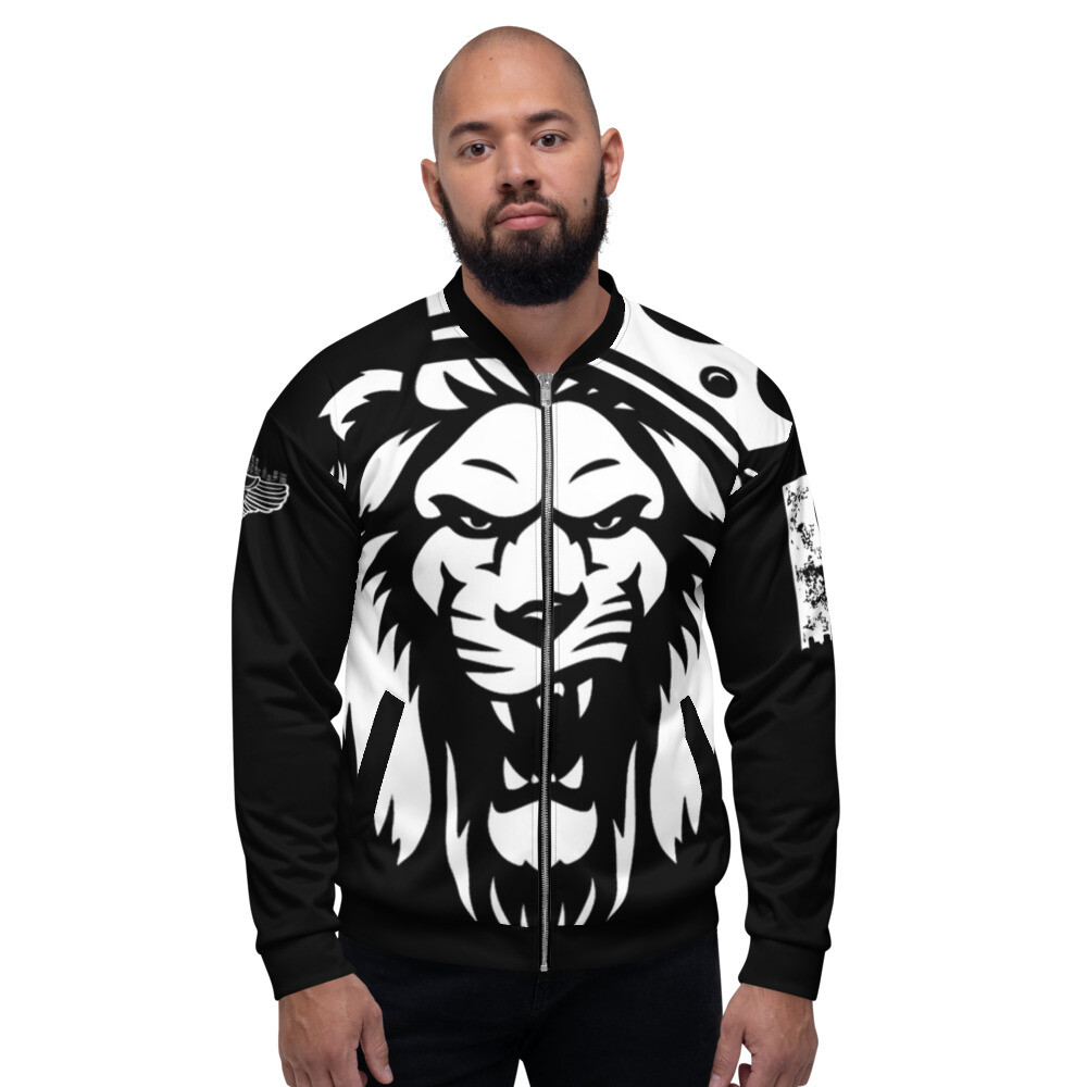 The KING Black Bomber Jacket